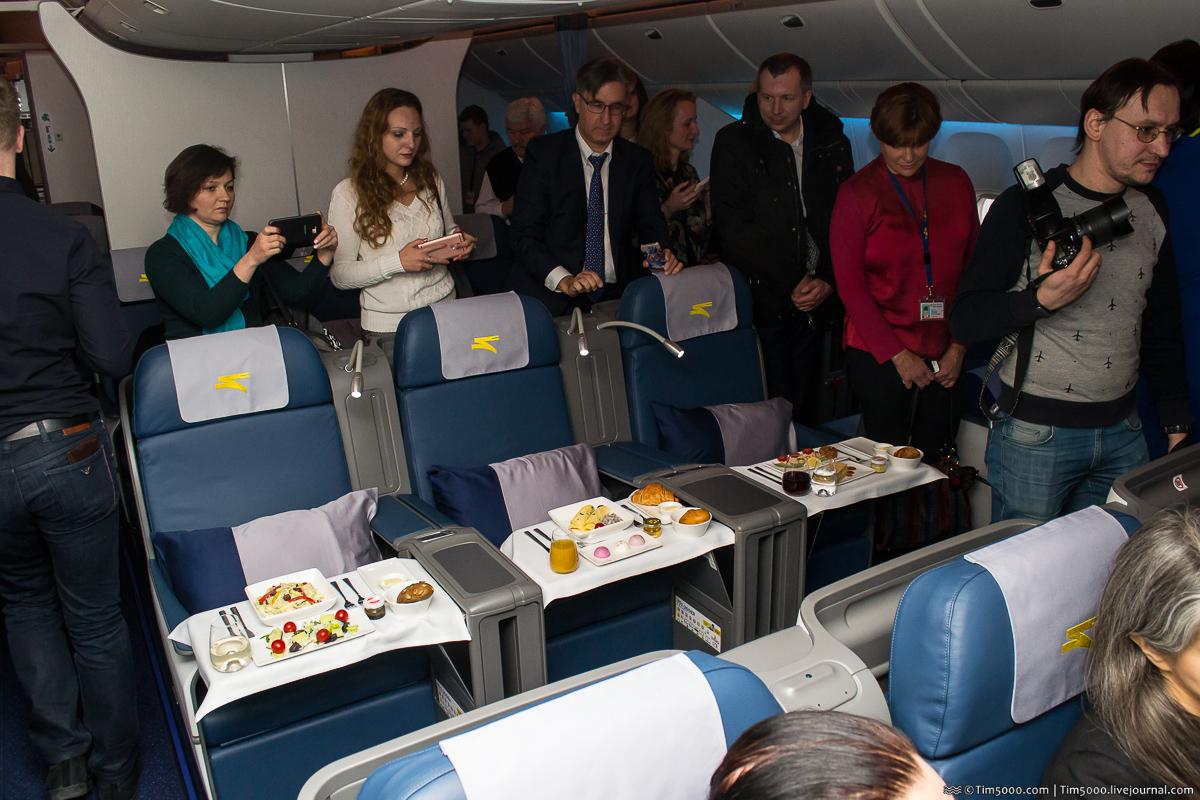 Бизнес-класс Boeing 777 МАУ