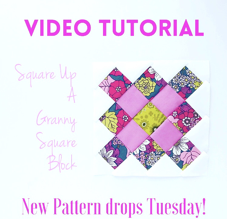 Square Up Granny Square Video Tutorial