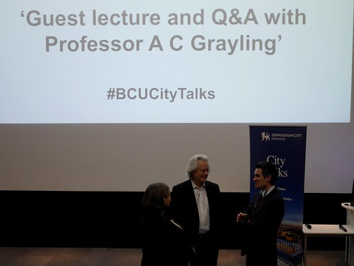 City Talks - Professor AC Grayling
