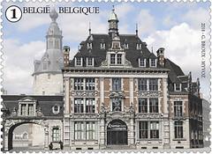 13 PLACES DE NAMUR timbre D palais congrès
