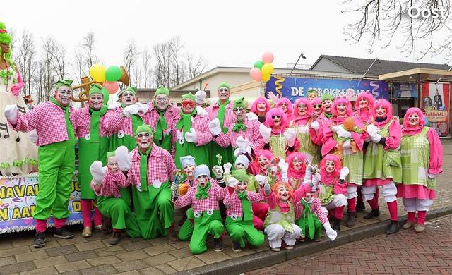 Carnavalsoptocht in Lemelerveld