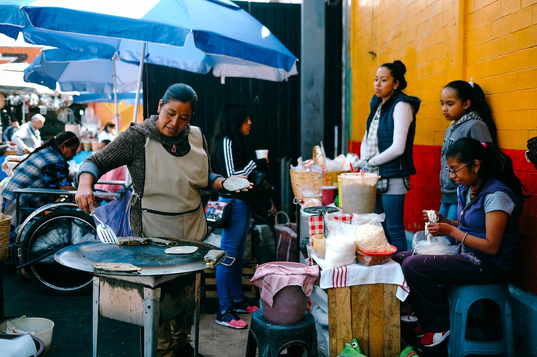 Jamaica Market, Mexico City, Mexico