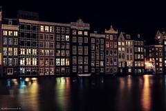 Beautiful Cold Night at Amsterdam