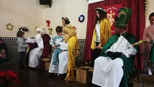 Los Reyes Magos en el Palacio de Alpériz