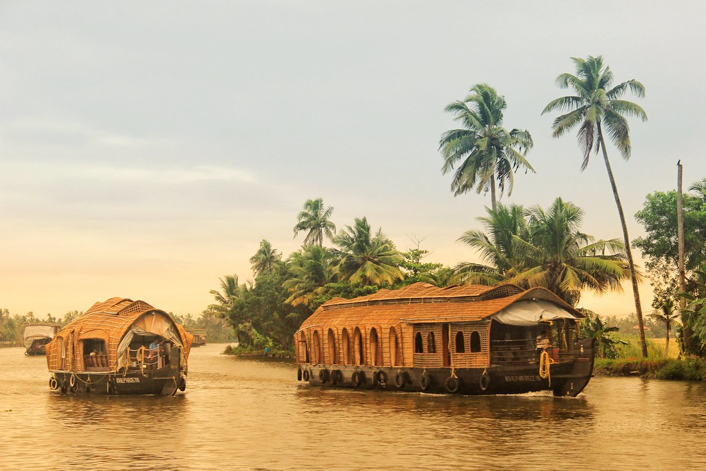 Houseboats, Kerala backwaters
