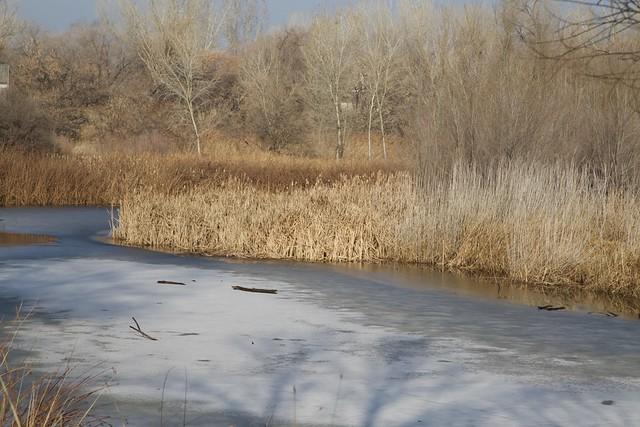 Jordan River, iced