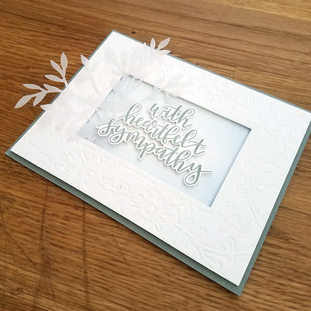 With Heartfelt Sympathy Card 3