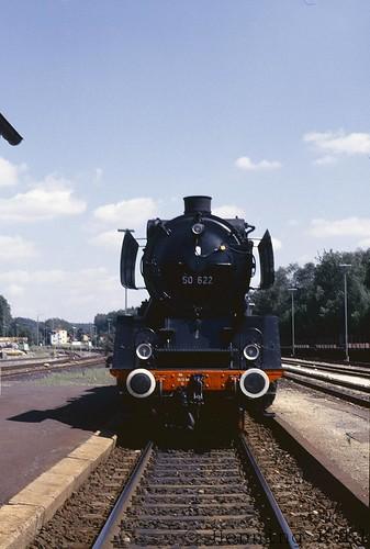 50 622 im Bahnhof Neukirchen (b.S.R.) 19855
