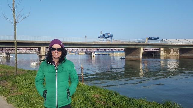 Fin de semana con autocaravana y bicicletas en Zumaia. Por fin buen tiempo