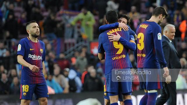 FC Barcelona - At. Madrid (4-3-2018)