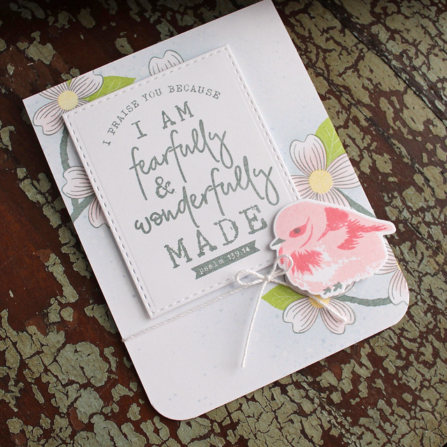 Fearfully & Wonderfully Made Card 2