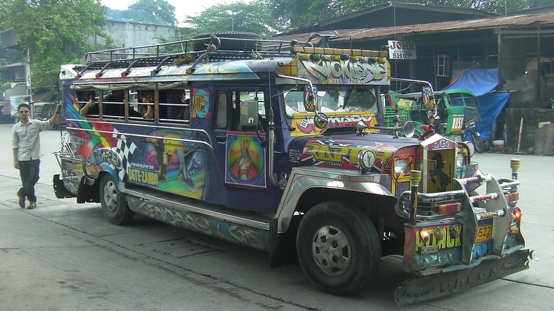 jeepney to Dauin