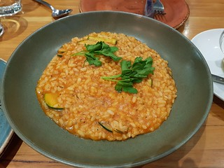 Tomato and Zucchini Risotto at Vegerama