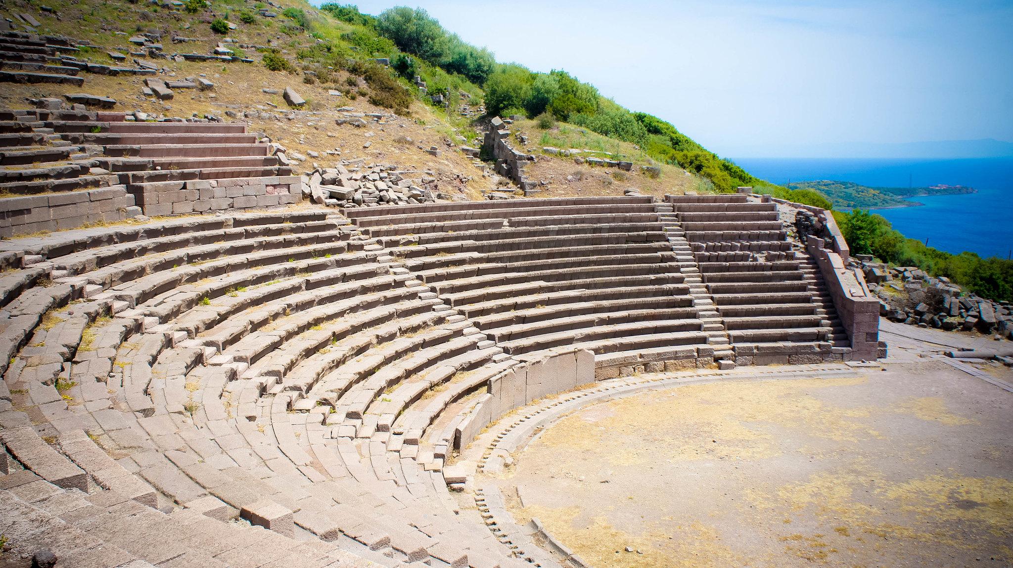 Assos theatre.