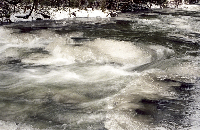 Semi Frozen West Credit River III_
