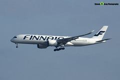 OH-LWD - 022 - Finnair - Airbus A350-941 - Heathrow - 170402 - Steven Gray - IMG_9695