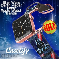 SOLD! #starwars #DarthVader #Mask #Apple Watch #Bands :arrow_right: https://goo.gl/V9SWFe :star2:  #Design by #bluedarkArt :star2: Casetify Collection :arrow_right: https://www.casetify.com/fr_FR/bluedarkat/collection  :star2:   Buy 2 get 20% OFF | Buy 3