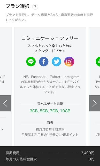 IMG_5623 格安SIM Softbank LINEモバイル LINEMOBILE MNP SIM ひめごと