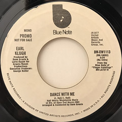 EARL KLUGH:DANCE WITH ME(LABEL SIDE-B)