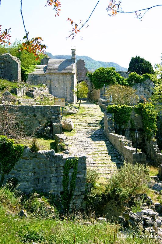 Вид на центральную часть города с крепостной стены