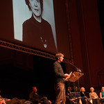 Ian Rankin reads from 'What Images Return', an essay by Muriel Spark | © Alan McCredie