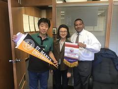 Shandong Normal University visit 2018