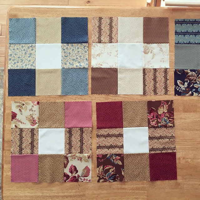 Nine-patch squares