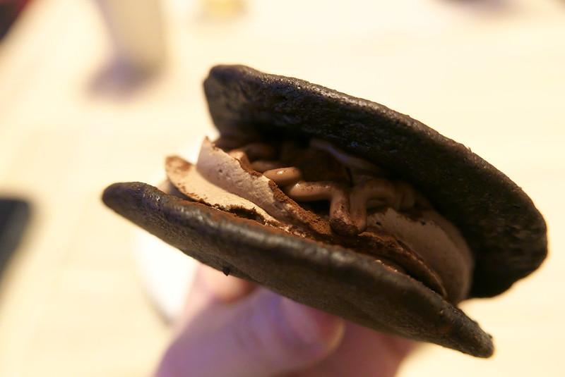 もっちりチョコパンケーキどら
