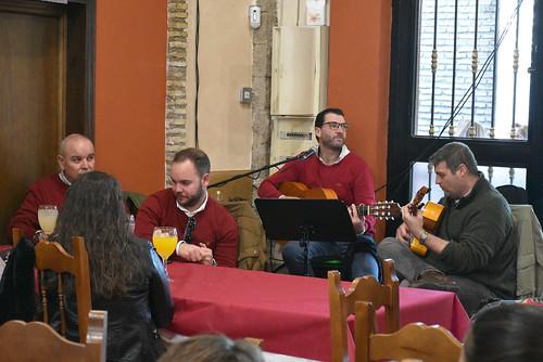 David El Quintita en el Restaurante El Garabato