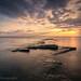 Kimmeridge Ledge Sunset, Dorset by ianperkins11