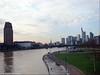 Der Main tritt über die Ufer - The Main overflows its banks
