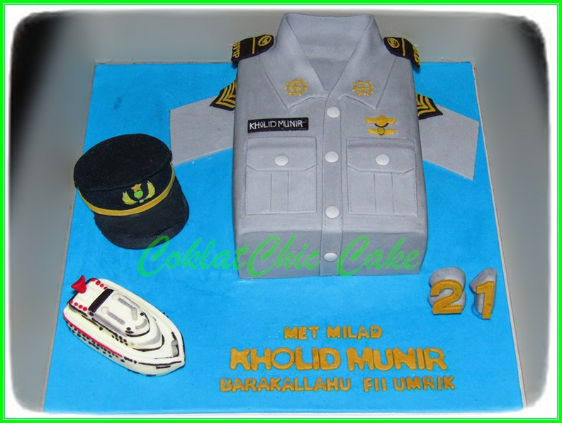 Cake baju AL KHOLID 15cm