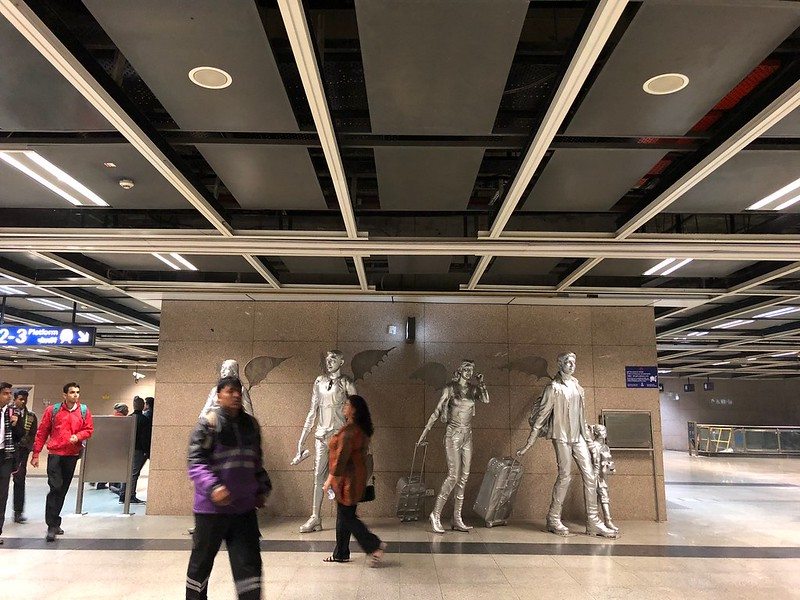 City Landmark - The Airport Angels, Airport Metro Station
