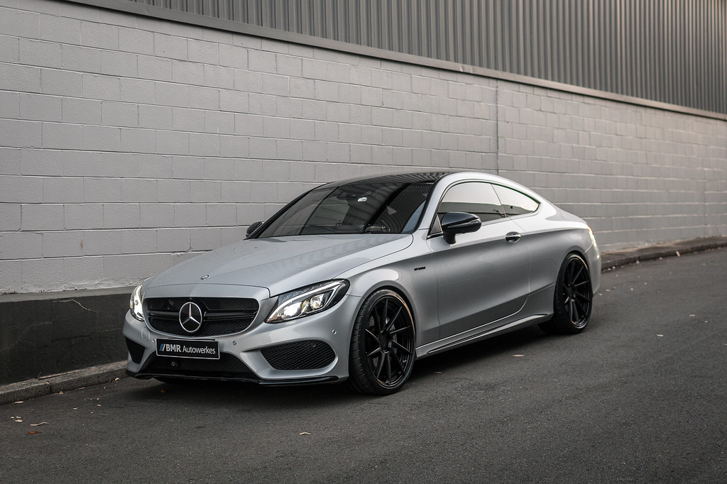 Sleek Silver C43 Coupe - BMR Autowerkes - Cars Enhancements