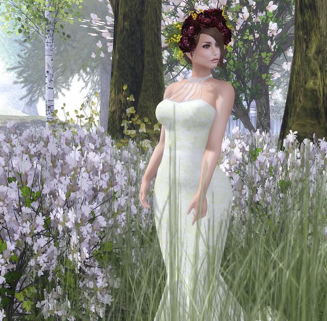 Silvan Moon Designs- Paris in Spring Bridal Gown @ Trunk Show