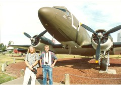 Castle Air Museum Ian Bill C-47 1992 or 3