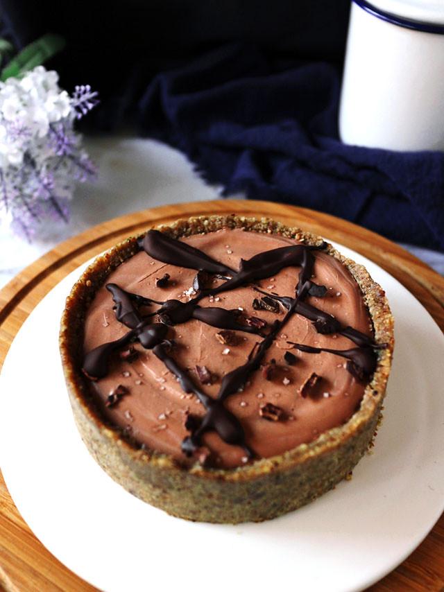 全素雙層巧克力香草乳酪蛋糕 vegan-double-chocolate-vanilla-cheesecake (2)