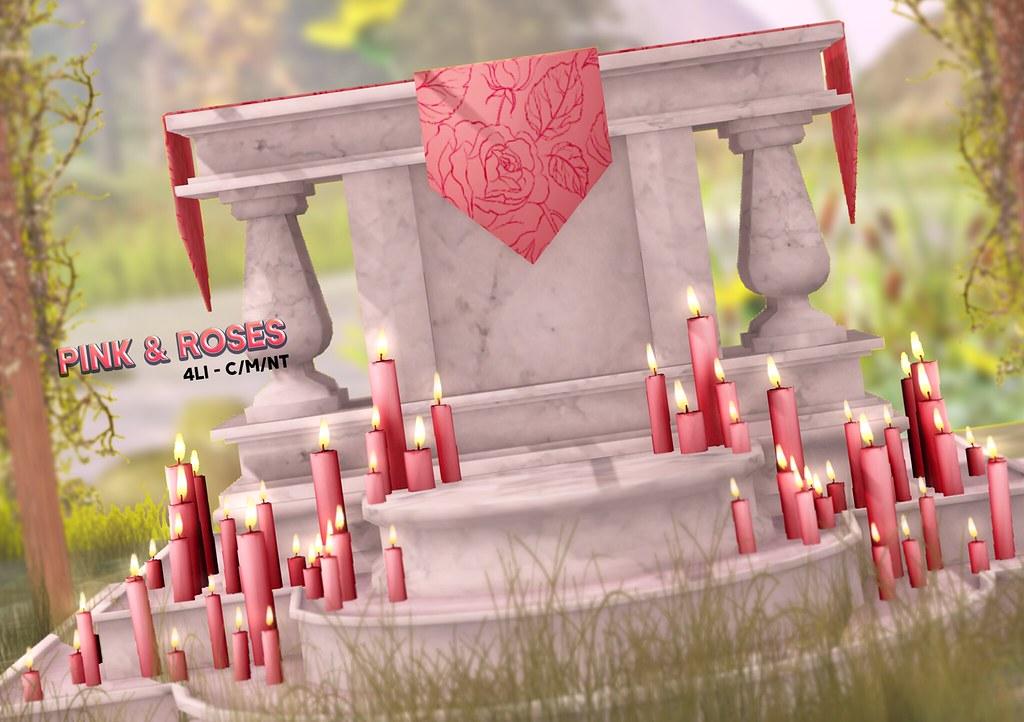 DELIRIUM +LUNACY+ // Pink & Roses – Altar
