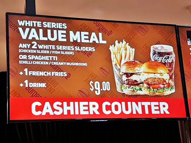 White Series Value Meal