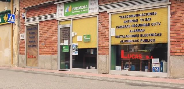 Una de las sedes de Talleres Eléctricos Lucas en Alba de Tormes.
