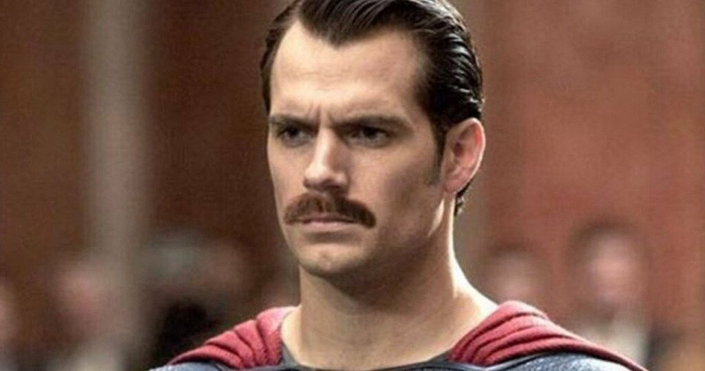 Justice-League-Movie-Superman-Mustache-What-Really-Happened