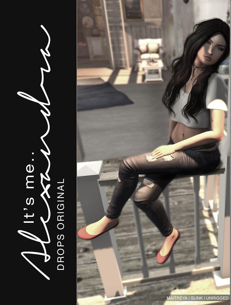 Alexandra Ballerina Flats @ Shiny Shabby - TeleportHub.com Live!