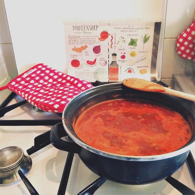 Tomatensoep (van Menno)