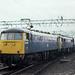 85 016 & 86 238, Crewe, 16-08-84