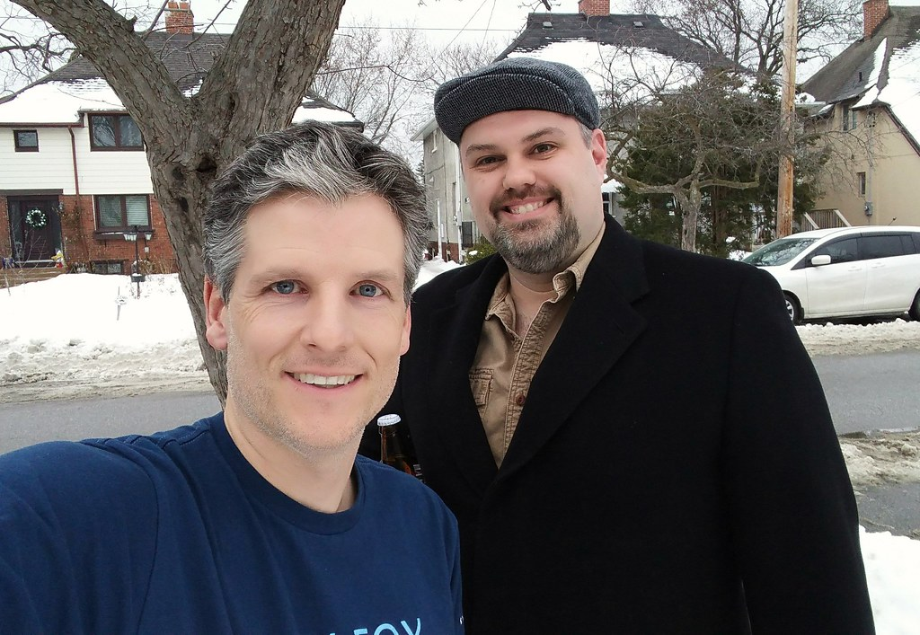Matt Gurney and me
