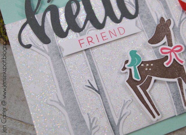 Jen Carter Jen Carter CP WW Hello Friend Tag Closeup 1