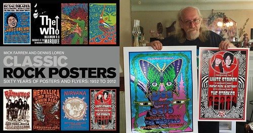 Classic Rock Posters, Yes, Asia, White Stripes and others' concert posters