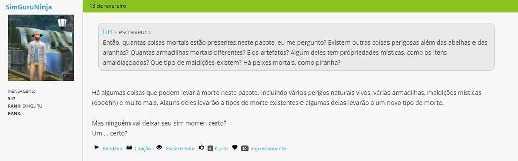 novas informações sobre o The Sims 4 Aventuras na Selva