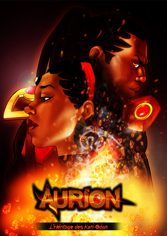 Aurion Legend of the Kori-Odan Manga