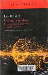 Lisa Randall, Universos ocultos